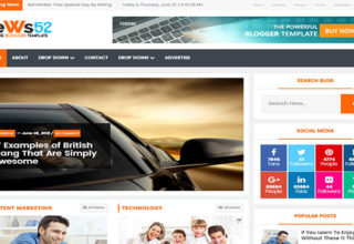News52 Blogger Template