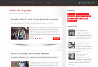mularonis blogger template