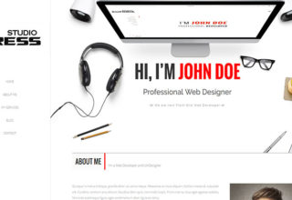 StudioPress Blogger Template