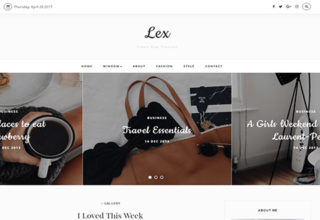 Lex Blogger Template