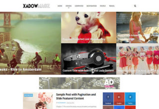 XadowMagz Blogger Template