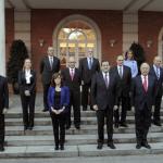 """Primer Gobierno de Rajoy """"dispersado por el protocolo"""""""