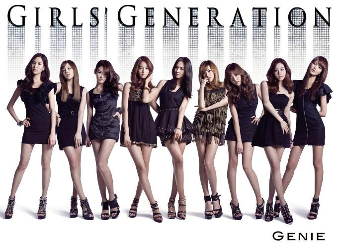 SNSD Korean Kpop girl group concepts Genie single Japanese debut Girl's Generation