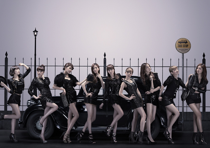 SNSD Korean Kpop girl group concepts Mr. Taxi single Girl's Generation