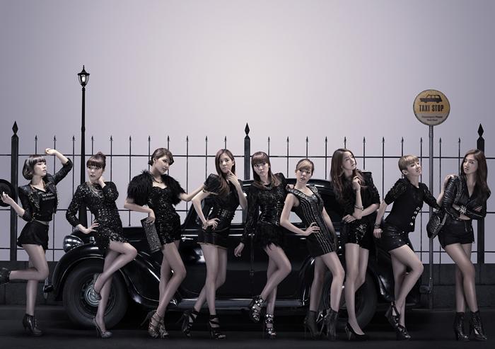 SNSD Korean Kpop girl group concepts Mr. Taxi single Girl's Generation
