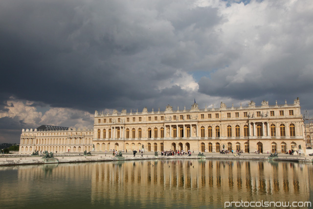 Palace of Versailles mansion