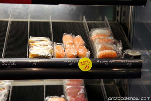 Sushi individual london