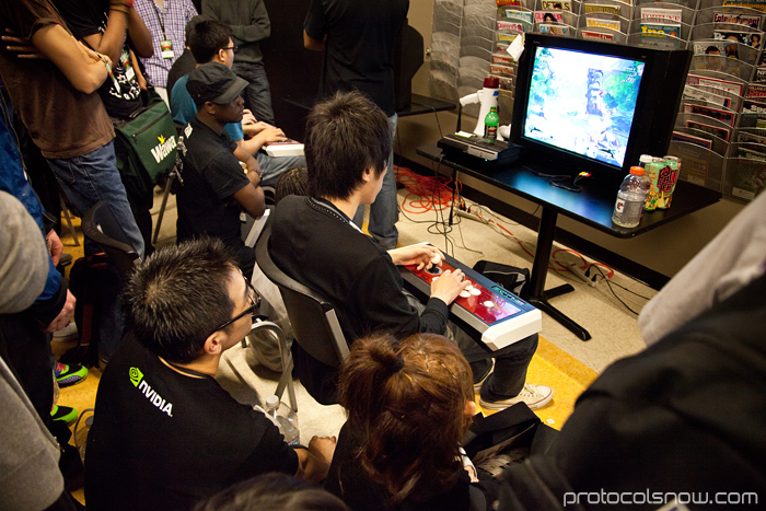 Season's Beatings V Redemption fighting game tournament Gamerbee Momochi Choco Blanka Super Street Fighter IV