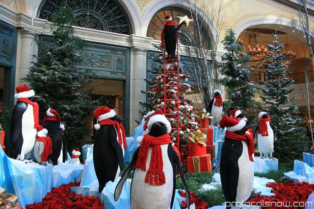 Las Vegas Bellagio winter conservatory
