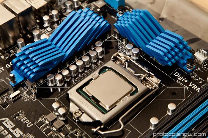 PC build Intel i5 2500k CPU Asus P8P67 motherboard mobo