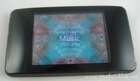 iRiver Clix mp3 player Korean