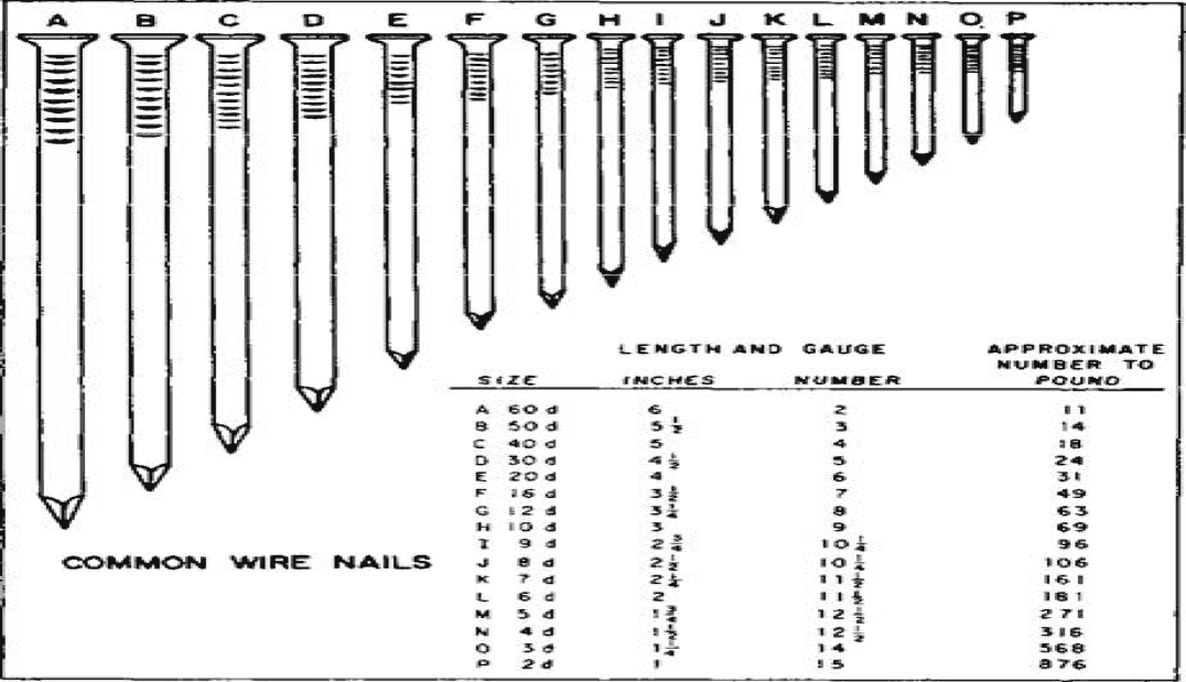 nails construction diagram