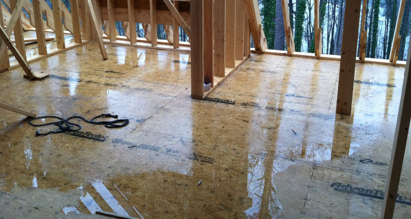 Tech Tip How To Solve The Subfloor Puddle Problem