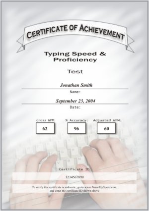 format of computer certificate - Pinarkubkireklamowe