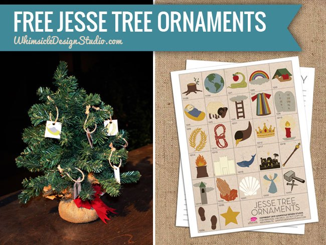 25+ Best Ideas for DIY Jesse Tree Ornaments - Proverbial Homemaker