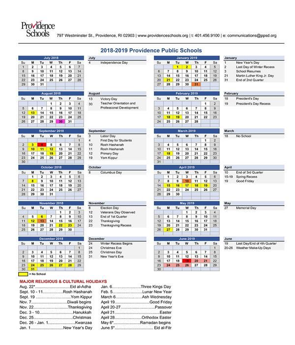 Providence Public Schools / Homepage
