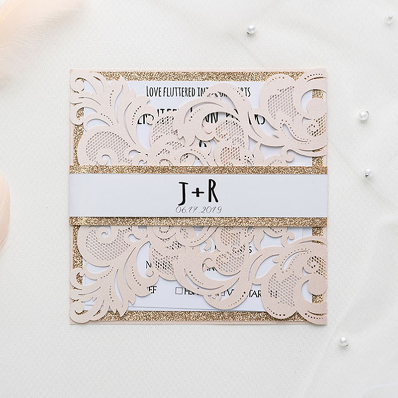 Affordable Wedding Invitations With Response Cards At Pro Wedding