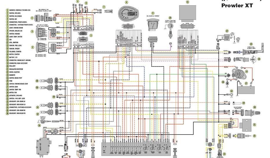 03 Arctic Cat Pantera Wiring Diagrams Electronic Schematics
