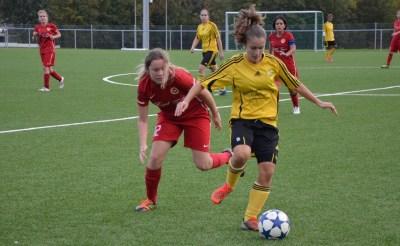 1ère ligue féminine : Chênois cartonne, Aïre battu