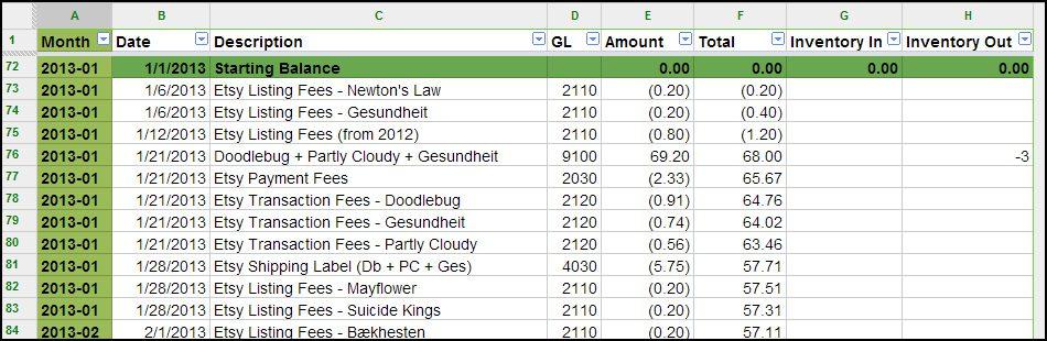 bookkeeping spreadsheet using microsoft excel sample 1 - Prune