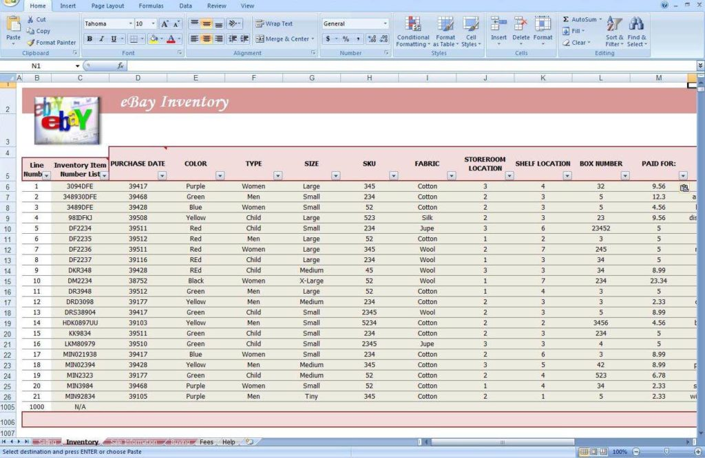 Office Supply Inventory Template Free - Prune Spreadsheet Template