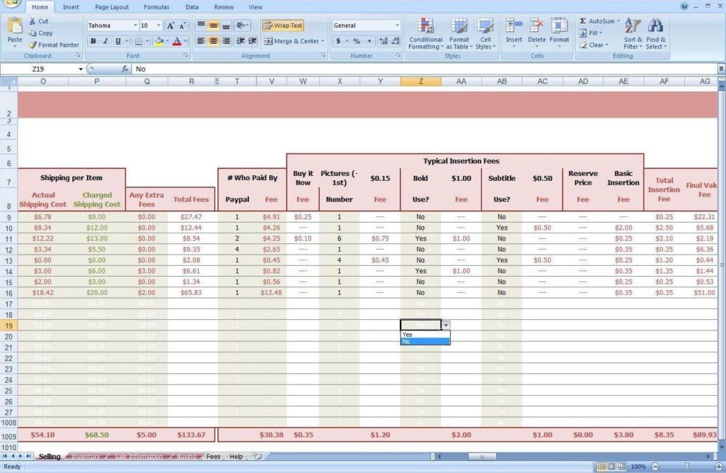 Inventory Spreadsheet Template Free And Stock Inventory Excel