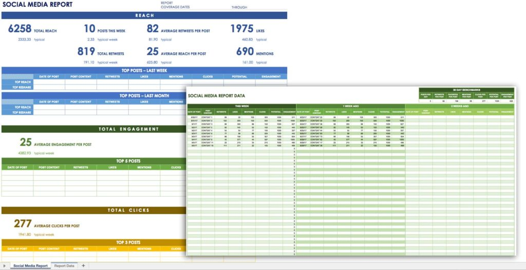 Monthly Management Report Template Excel Free And Management Report