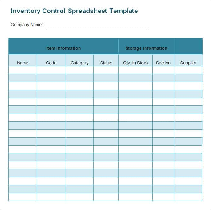 Sample Of An Inventory Spreadsheet And Sample Inventory Issue Form