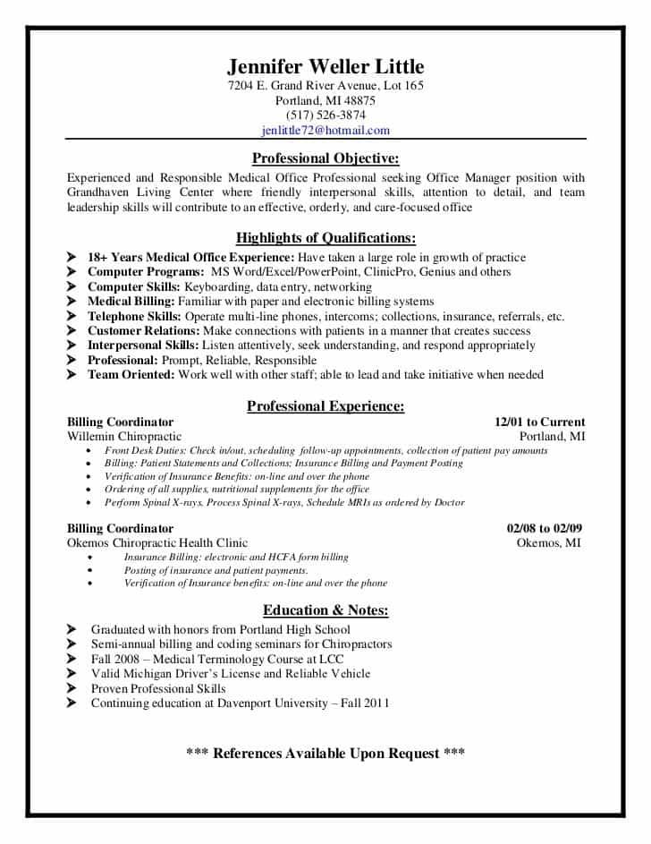 Medical Billing And Coding Job Description Sample - Prune