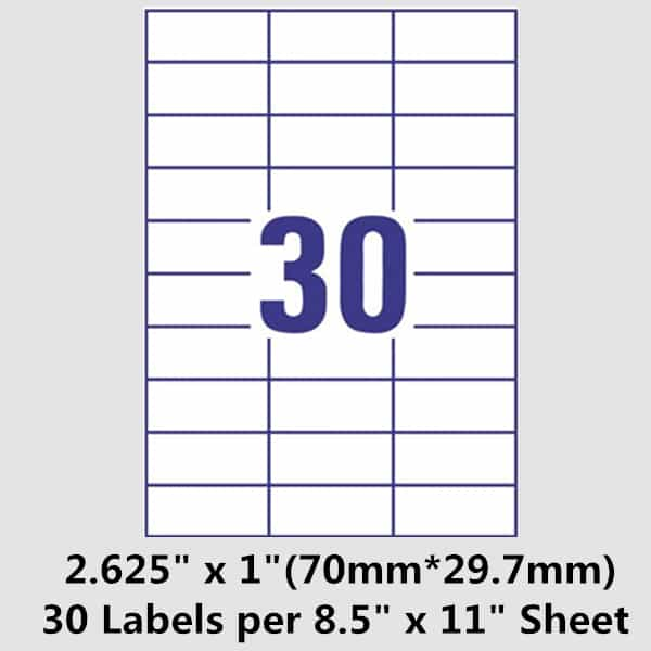 Avery 14 labels per sheet word template and free printable shipping