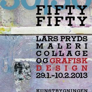 50-50-plakat-A3 Kunstbygningen Filosoffen