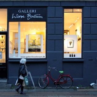 Udstillingen PARLØB, med værker af Lisbeth Tolstrup og Lars Pryds, i Galleri Lisse Bruun, København, 31. oktober - 23. november 2013. Foto: Lars Pryds