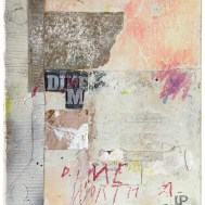 "Lars Pryds: ""Worth a Dime"", 2012. Maleri/collage, 30x25 cm."