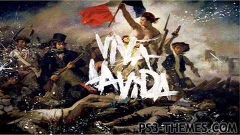 Ps3 Animated Wallpaper Ps3 Themes 187 Coldplay Viva La Vida