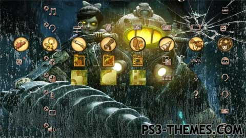 Ps3 Animated Wallpaper Ps3 Themes 187 Search Results For Quot Bioshock 1