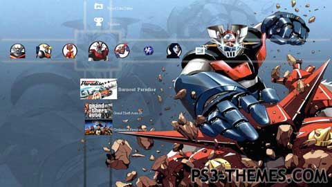 Transformers Fall Of Cybertron Wallpaper Hd Ps3 Themes 187 Mazinger Z