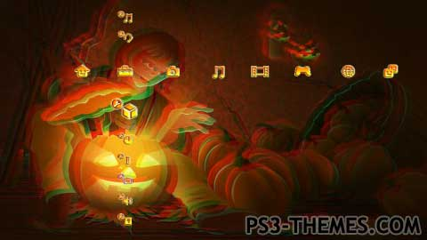 3d Animated Wallpapers And Screensavers Full Version Free Download Ps3 Themes 187 Halloween 3d Slide Show Theme