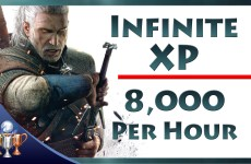 The-Witcher-3-Wild-Hunt-Infinite-XP-8000-Per-Hour-Exploit-Unlimited-Experience-to-Level-Up-Fast