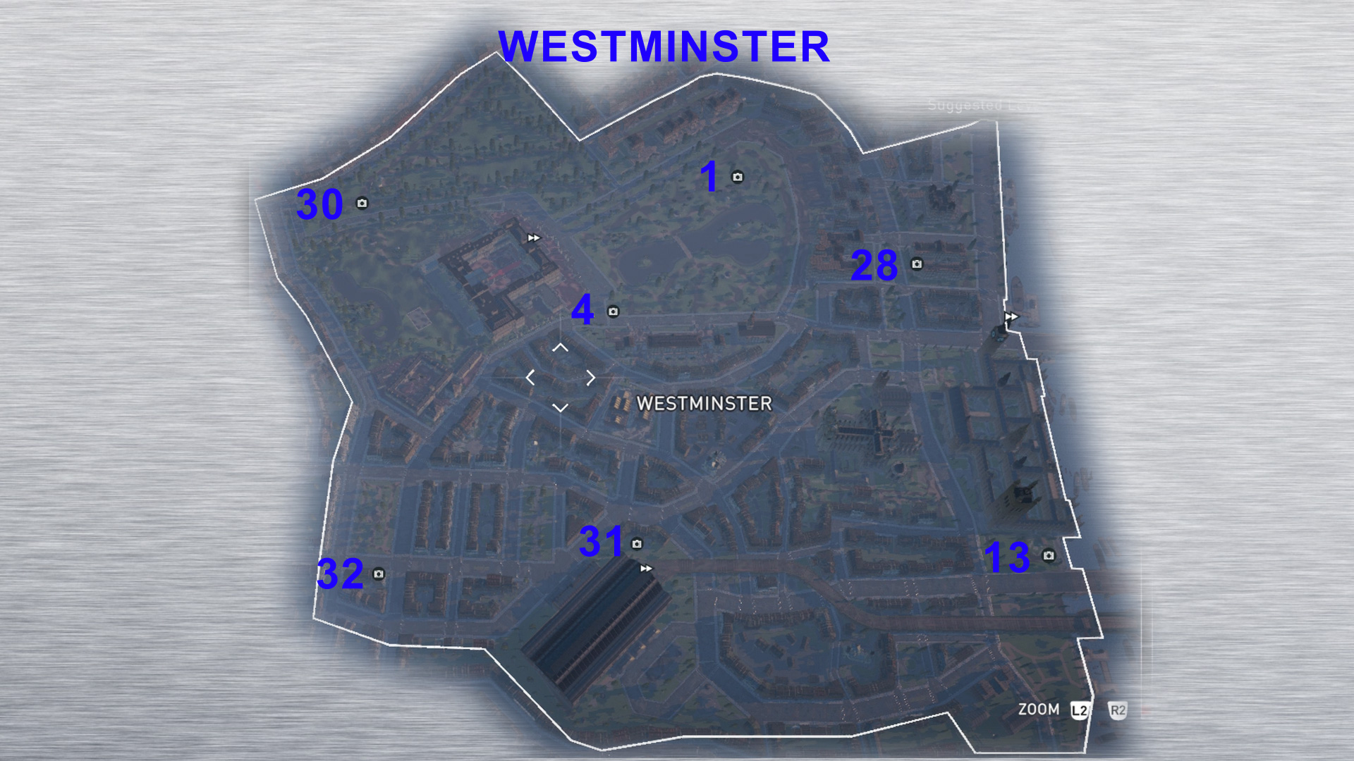 Westminster Secrets of London Precursor Discs – PS4Trophies Gaming