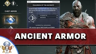 Of War How To Obtain Ancient Armor Set Primordial Trophy Guide Ps4trophies Gaming