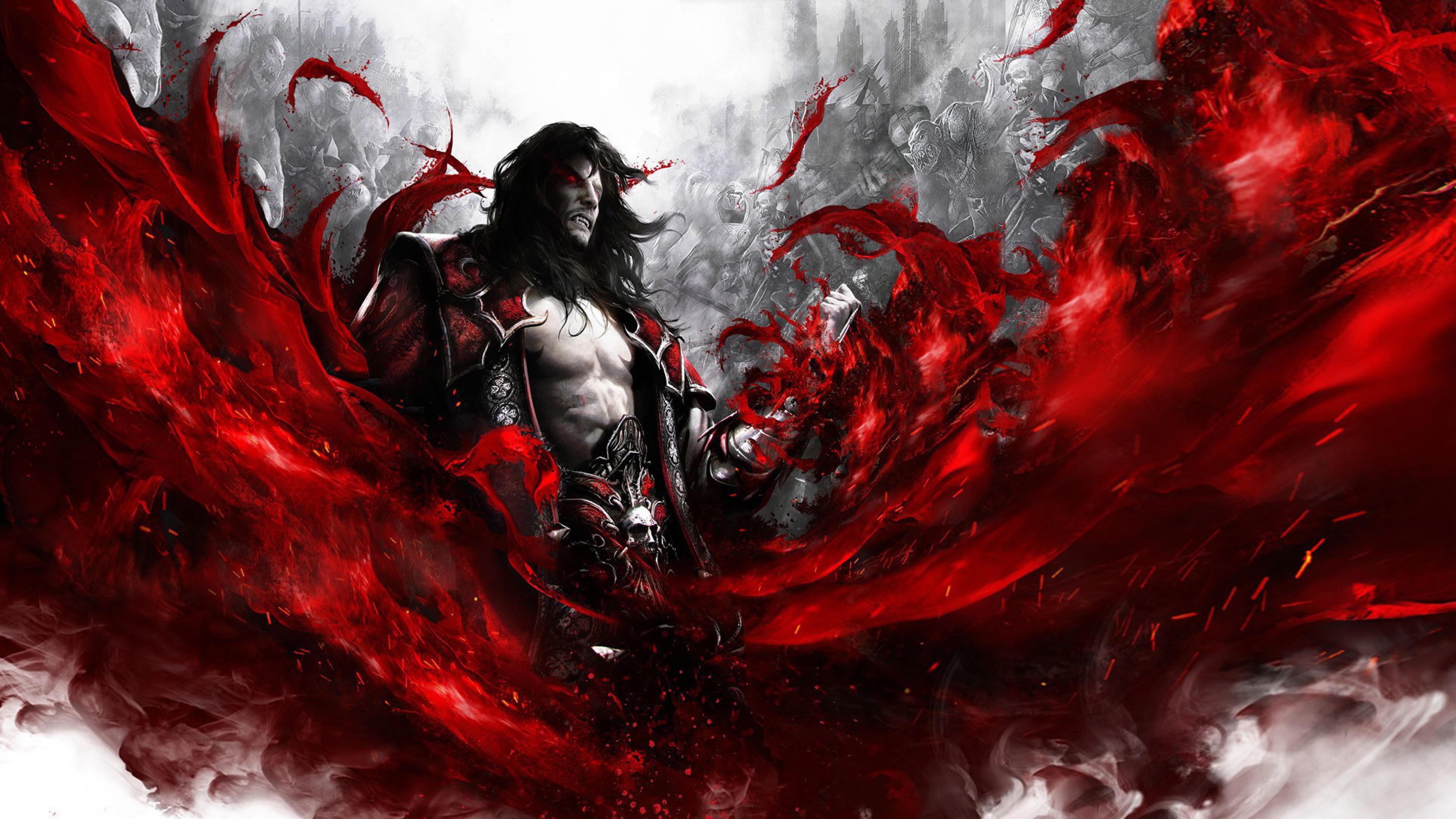 Busty Anime Girl Wallpaper Castlevania Lords Of Shadow 2 Ps4wallpapers Com