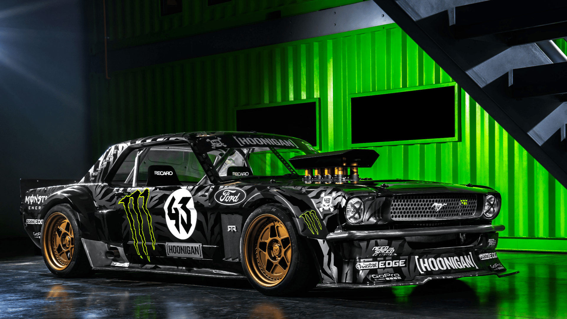 R34 Wallpaper Hd Ken Block Mustang 1 Ps4wallpapers Com