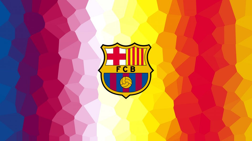 Seasonal Wallpaper For Iphone Fc Barcelona Minimalism Logo Ps4wallpapers Com