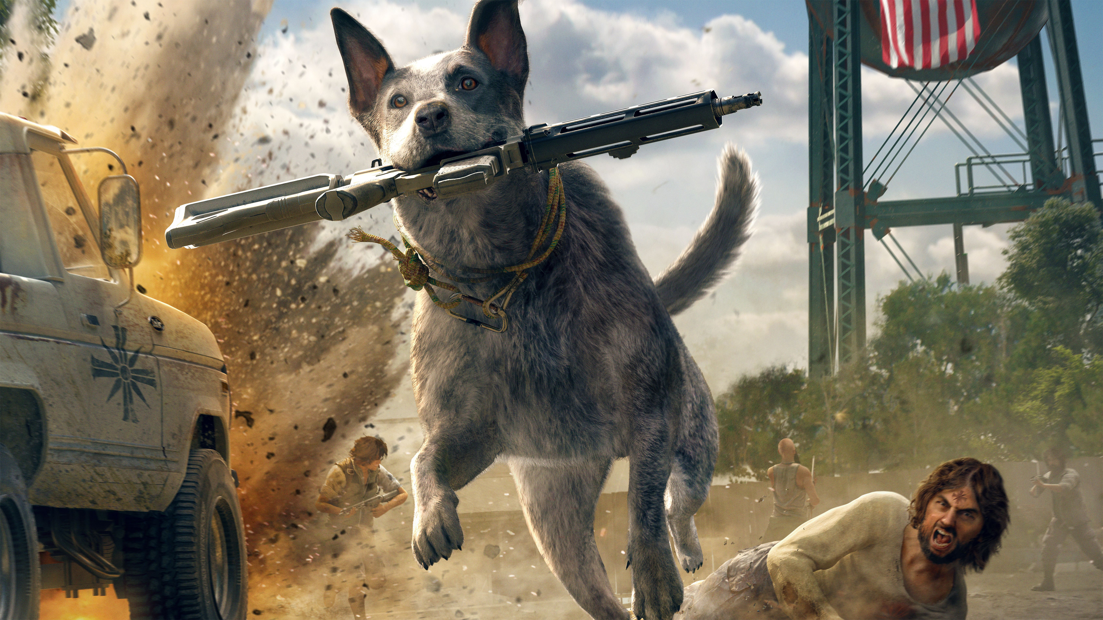 Anime Zombie Girl Wallpaper Boomer Far Cry 5 Ps4wallpapers Com