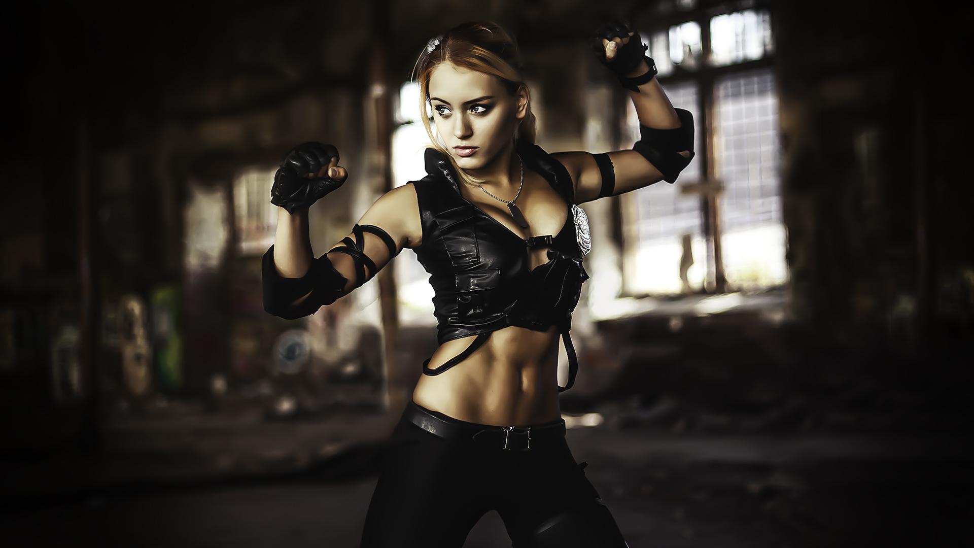 Anime Killer Girl Wallpaper Mortal Kombat Sonya Ps4wallpapers Com