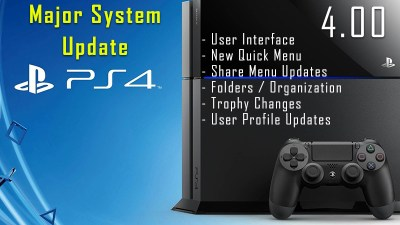 PS4's System Software 4.0 Update Means The PS5 isn't Coming Anytime Soon