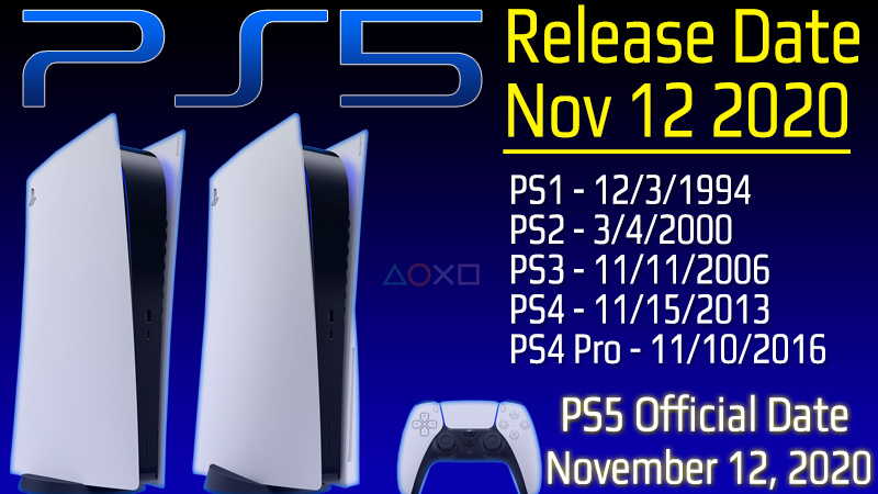 Ps5 Release Date Countdown To Ps5 Launch