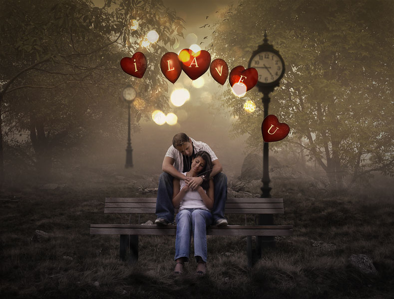 Cute Wallpapers To Say I Love You Make A Love Declaration In Photoshop Photoshop Tutorial