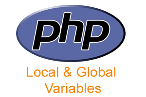 Local and Global variables in PHP