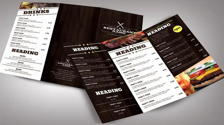 37 Free Premium Restaurant Menu Templates